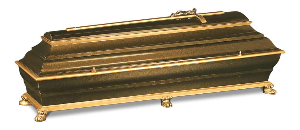 Verona Metallsarg gold