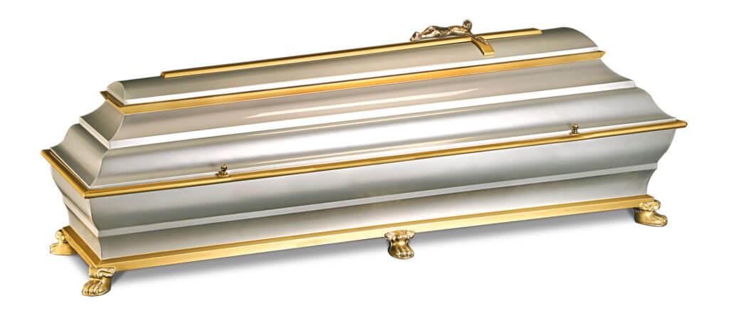 Verona Metallsarg silber