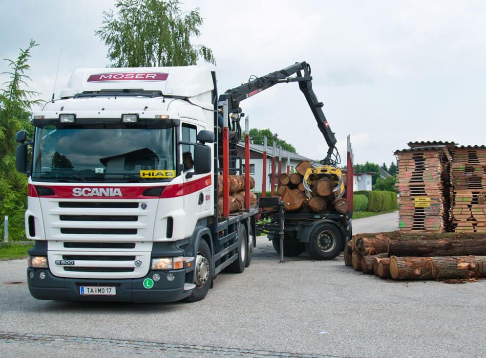 Holztansport